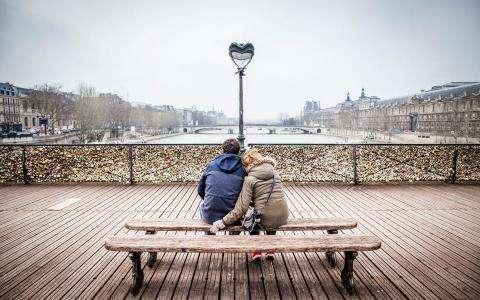 Romantic Paris, the capital of love