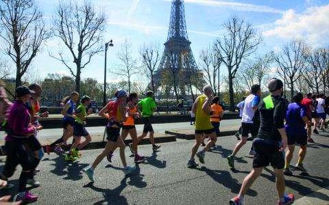 Voir Paris autrement durant le Marathon de Paris