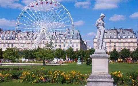 Un doux été au Jardin des Tuileries à Paris
