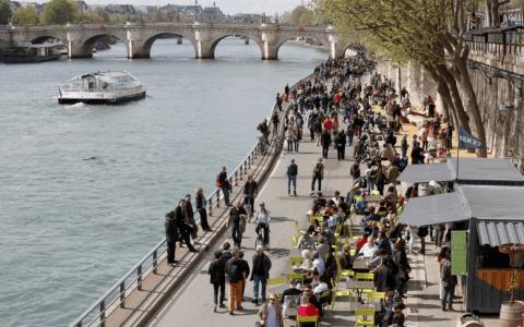 Une balade au fil de l'eau en plein cœur de Paris