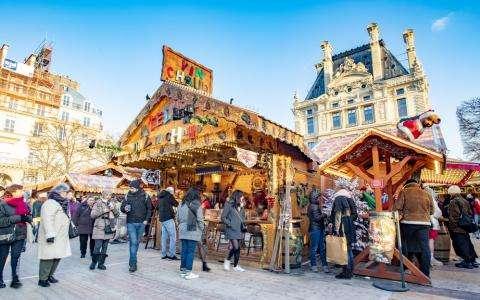 Balade sur les marchés de Noël de Paris