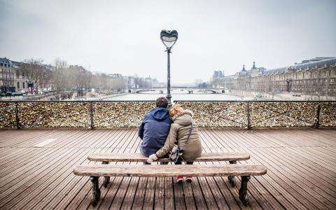 Romantic Paris, the capital of love